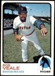 1973 Topps #518  Bob Veale  Front Thumbnail