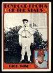 1972 Topps #345   -  Rick Wise Boyhood Photo Front Thumbnail
