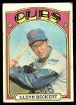 1972 Topps #45 YLW Glenn Beckert  Front Thumbnail