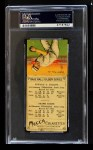 1911 T201 Mecca  Eddie Collins / Home Run Baker  Back Thumbnail