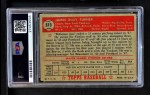 1952 Topps #373  Jim Turner  Back Thumbnail
