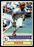 1979 Topps #20  Joe Morgan  Front Thumbnail