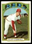 1972 Topps #311  Clay Carroll  Front Thumbnail
