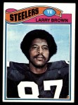 1977 Topps #51  Larry Brown  Front Thumbnail