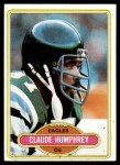 1980 Topps #459  Claude Humphrey  Front Thumbnail