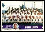 1979 Topps #112   -  Danny Ozark Phillies Team Checklist Front Thumbnail