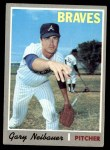 1970 Topps #384  Gary Neibauer  Front Thumbnail