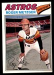 1977 O-Pee-Chee #44  Roger Metzger  Front Thumbnail
