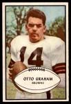 1953 Bowman #26  Otto Graham  Front Thumbnail