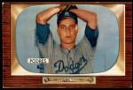 1955 Bowman #97  Johnny Podres  Front Thumbnail