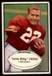 1953 Bowman #96  William Cross  Front Thumbnail