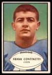 1953 Bowman #44  Frank Continetti  Front Thumbnail