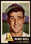 1953 Topps #128  Wilmer Mizell  Front Thumbnail