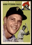 1954 Topps #95  Hal Rice  Front Thumbnail