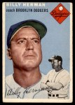 1954 Topps #86  Billy Herman  Front Thumbnail