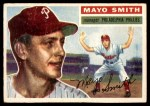 1956 Topps #60  Mayo Smith  Front Thumbnail