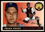 1955 Topps #87  Frank House  Front Thumbnail