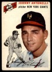 1954 Topps #119  Johnny Antonelli  Front Thumbnail