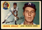1955 Topps #35  Dave Jolly  Front Thumbnail
