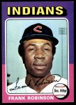 1975 Topps Mini #580  Frank Robinson  Front Thumbnail