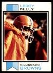 1973 Topps #381  Leroy Kelly  Front Thumbnail
