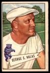 1952 Bowman Large #48  George Halas  Front Thumbnail