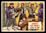 1954 Topps Scoop #62 xCOA  Bandits Rob Brinks  Front Thumbnail