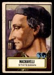 1952 Topps Look 'N See #106  Machiavelli  Front Thumbnail