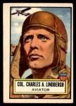 1952 Topps Look 'N See #30  Charles Lindbergh  Front Thumbnail