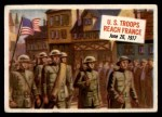 1954 Topps Scoop #21   US Troops Reach France Front Thumbnail