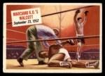 1954 Topps Scoop #65 xCOA  -  Rocky Marciano KOs Walcott  Front Thumbnail