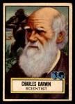 1952 Topps Look 'N See #124  Charles Darwin  Front Thumbnail