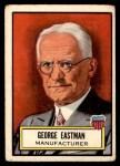 1952 Topps Look 'N See #25  George Eastman  Front Thumbnail