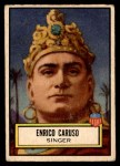 1952 Topps Look 'N See #91  Enrico Caruso  Front Thumbnail