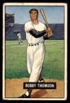 1951 Bowman #126  Bobby Thomson  Front Thumbnail
