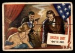 1954 Topps Scoop #6   Lincoln Shot Front Thumbnail