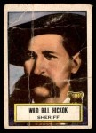1952 Topps Look 'N See #60  Wild Bill Hickok  Front Thumbnail