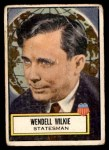 1952 Topps Look 'N See #120  Wendell L Wilkie  Front Thumbnail