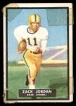 1951 Topps Magic #41  Zack Jordan  Front Thumbnail