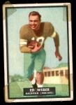 1951 Topps Magic #6  Ed Weber  Front Thumbnail