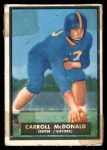 1951 Topps Magic #66  Carroll McDonald  Front Thumbnail