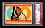 1960 Topps #566   -  Hank Aaron All-Star Front Thumbnail