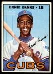 1967 Topps #215  Ernie Banks  Front Thumbnail