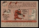 1958 Topps #412  Jerry Staley  Back Thumbnail