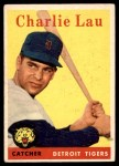 1958 Topps #448  Charlie Lau  Front Thumbnail