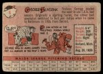 1958 Topps #6  George Zuverink  Back Thumbnail