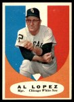 1961 Topps #132  Al Lopez  Front Thumbnail