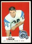 1969 Topps #256  Jack Snow  Front Thumbnail