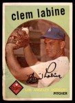 1959 Topps #403  Clem Labine  Front Thumbnail