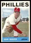 1964 Topps #16  John Boozer  Front Thumbnail